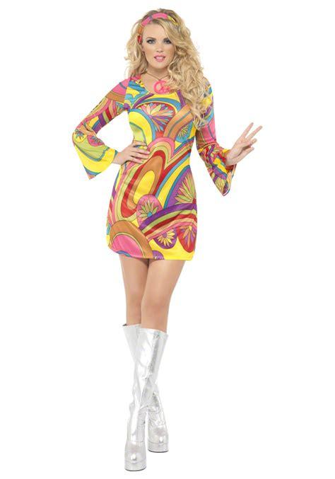 blouse mote 1 60s flower power costume