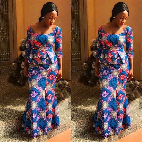 Latest Ankara Skirt and Blouse Styles 2017 : Check Them Out
