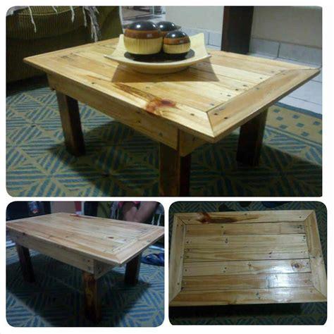mesa de centro pallet coffee table  pallets