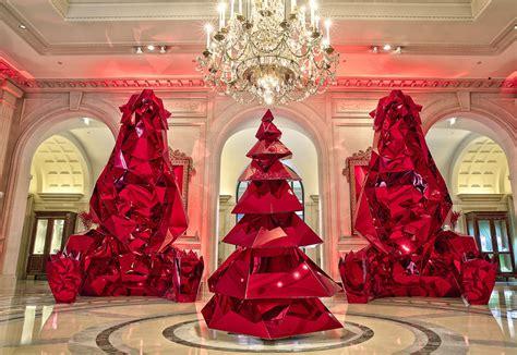 christmas hotel gli alberghi  gli addobbi natalizi piu