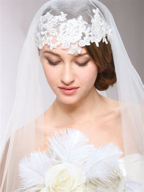 Juliet Caps And Vintage Veils At Bella Mera Bridal Bella