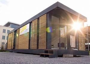 Moderne Container Häuser : neues wohnen im cubig designhaus minihaus tiny house pinterest minihaus neuer und wohnen ~ Whattoseeinmadrid.com Haus und Dekorationen