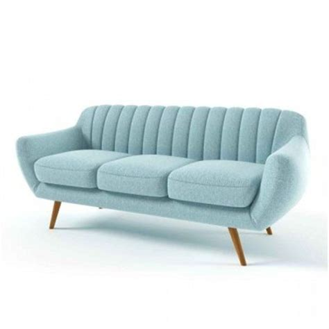 canapé marque canapé design bleu 3 places tudor sans marque prix avis