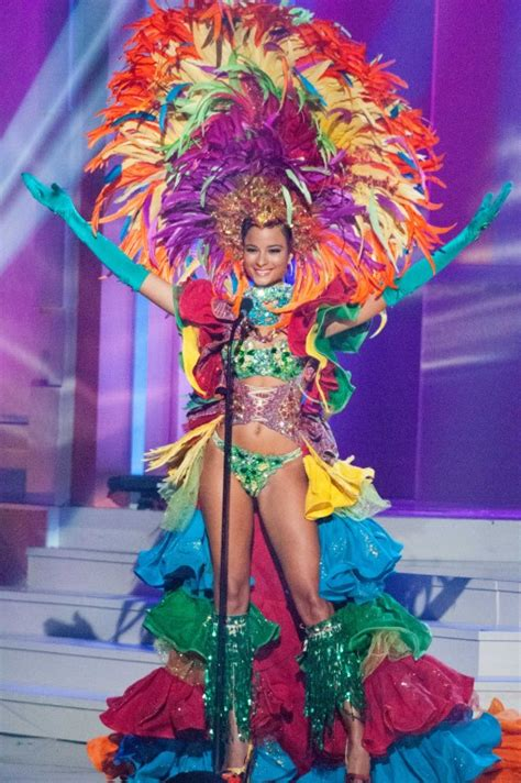 Fabs and FABBERS The Miss Universe 2015 National Costume Show Miss Jamaica Kaci Fennell u2013 Go ...
