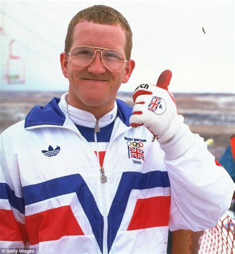 foto de Eddie the Eagle Edwards tells of his pain after wife