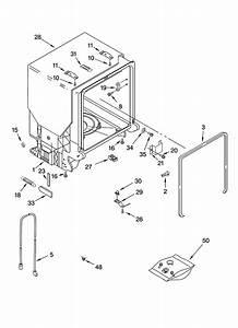 Whirlpool Model Gu2200xtsb0 Dishwasher Genuine Parts
