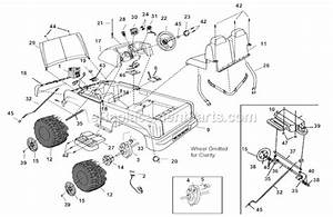Power Wheels B1476-9993 Parts List And Diagram