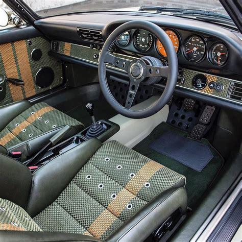 Custom Porsche Interior by Singer Porsche Customized Interior Cars Porsche