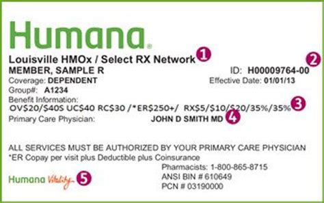 humana customer service phone number information found on your humana member id card