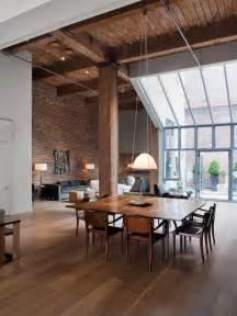 interior ceiling designs for home bois acier briques rouges frenchy fancy