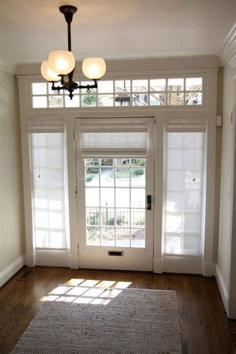 window coverings for glass front doors | Curtains, Drapes