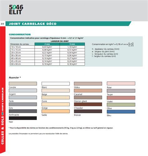 joint 5046 elit 10 kg couleur chocolat parex lanco pour carrelage sol ou murale 10 kg environ