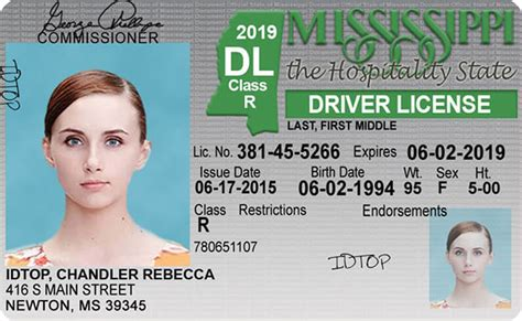 Mississippi New Driver's License Application And Renewal 2019