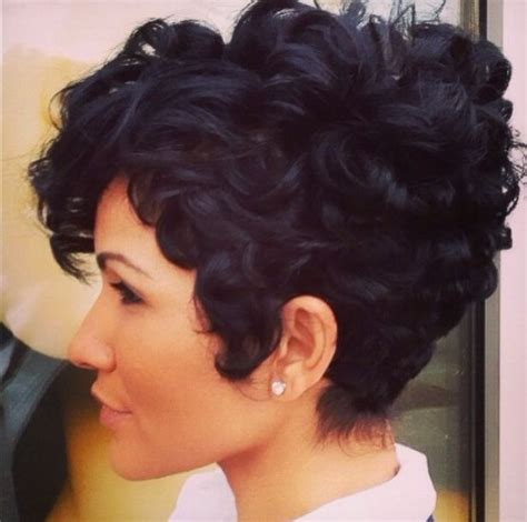short curly pixie ideas  pinterest curly