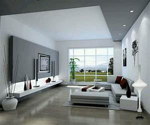 Deco Moderne Salon : d co salon salon moderne gris harmonie esth tique leading inspiration ~ Teatrodelosmanantiales.com Idées de Décoration