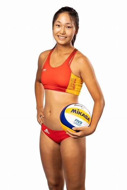 Volleyball Beach Major Series Height Asian Zeng