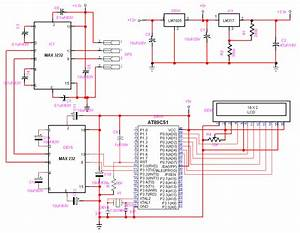 Circuit Diagram And Program To Interface A Gps Receiver With At89s51