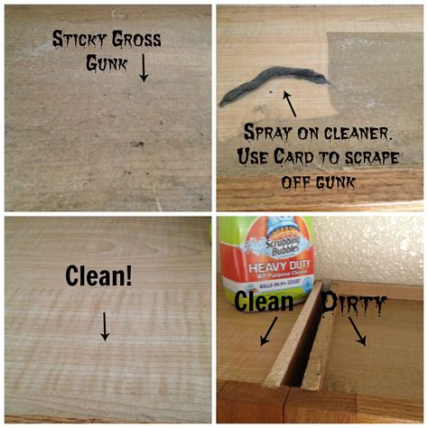 how to remove grease stains from kitchen cabinets how to clean the tops of greasy kitchen cabinets secret 9825