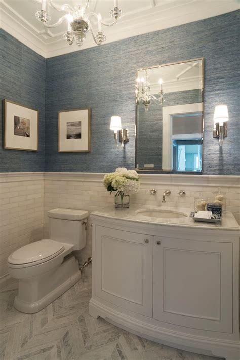 elegant powder rooms powder room traditional with wall