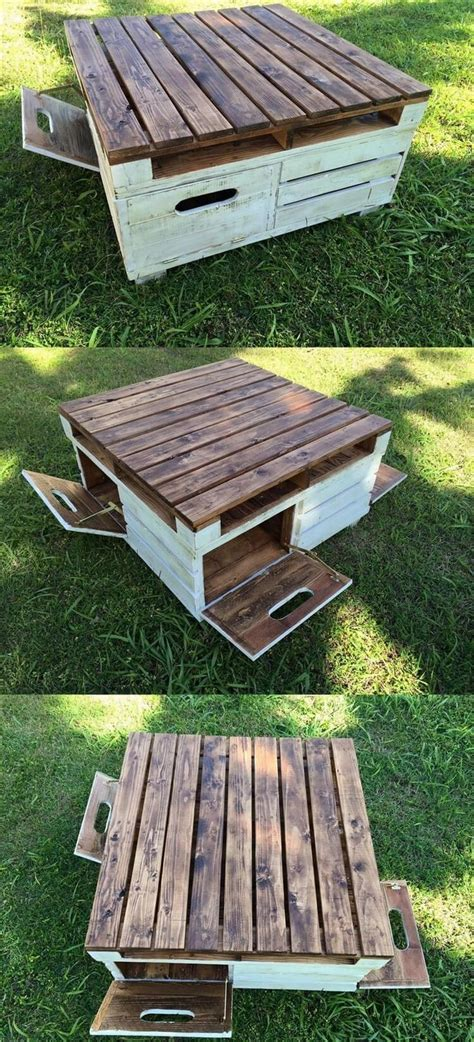 Best 25+ Pallet Coffee Tables Ideas On Pinterest Pallett