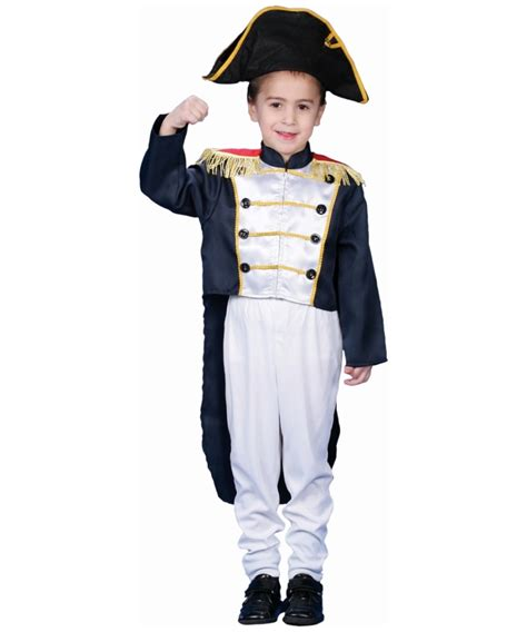 colonial general kids costume boy colonial costumes