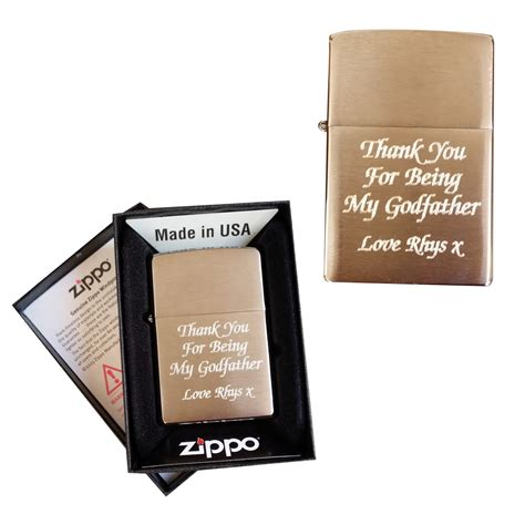 personalised zippo lighter engraved gift sparkle gifts