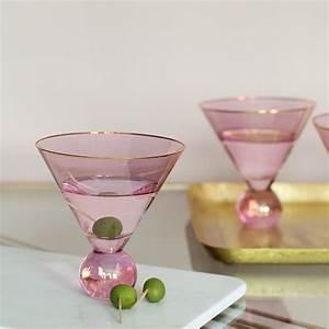 Martini Glas Xxl : pink martini glasses set of 4 audenza ~ Yasmunasinghe.com Haus und Dekorationen
