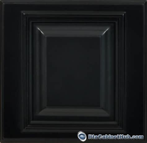 black kitchen cabinet doors rta kitchen cabinets signature black rta cabinet hub 4686