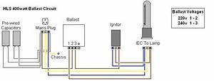 Ballast Wiring - Lighting