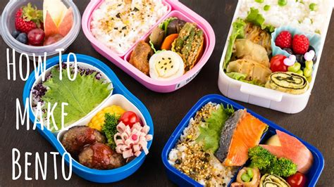 easy cing lunch ideas how to make bento お弁当の作り方 youtube