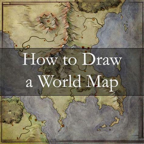 Worldbuilding By Map - Fantastic Maps | Fantasy world map ...