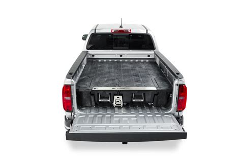 decked truck bed storage system is ready for mid size