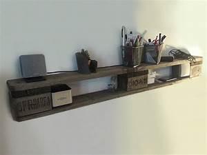 Acheter Meuble En Palette Bois : etag re idee bricolage fabriquer etagere en palette ~ Premium-room.com Idées de Décoration
