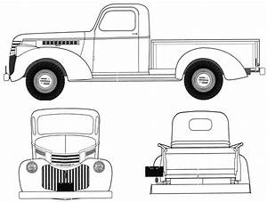 1946 dodge clipart clipground With 1947 chevy crew cab