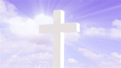 White Cross Background Hd 720p Seamless Loop With White Cross And Motion