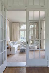 Interior French Doors with Transom Windows - French