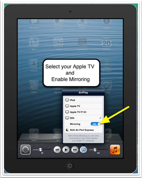 iphone mirroring airplay mirroring from iphone ios6 suu help center