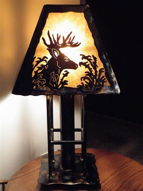 hand made deer table l by dakota rustic creations custommade com