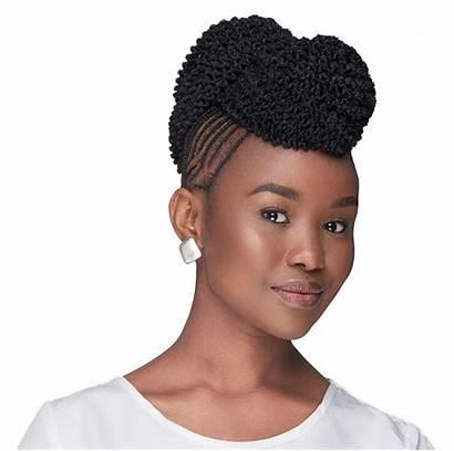 Afro Kinky Bulk Hair Crochet Extensions Extension