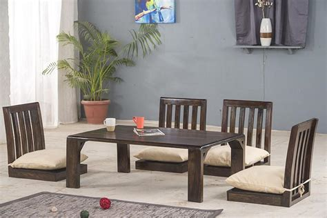 buy solid wood japanese style  dining table