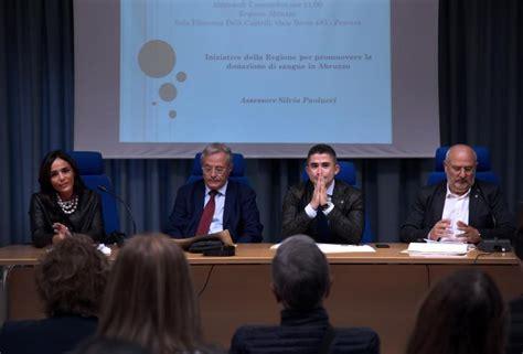 Ufficio Anagrafe Pescara Sanit 224 Presentata L Anagrafe Regionale Dei Donatori Di