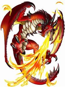 Image - Fire Dragon transparent.png | Quiz RPG: The World ...