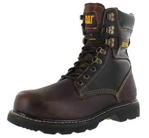 cat work boots caterpillar cat 039 s indiana 8 034 steel toe work