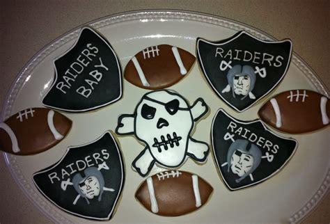 oakland raiders cookies cakecentralcom