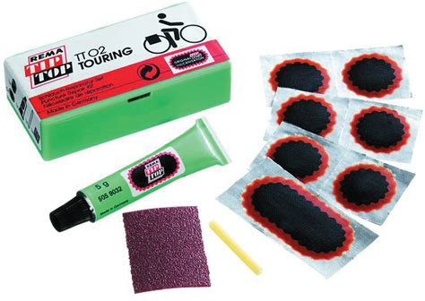Rema Tip Top Tt02 Touring Puncture Repair Kit. Cycling