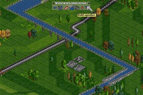 building canals openttd
