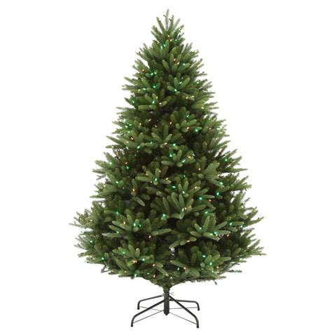home accents sierra nevada tree home accents 7 5 ft set pre lit led nevada artificial tree with