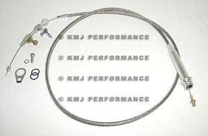 Chevy Turbo Transmission Stainless Kickdown Cable
