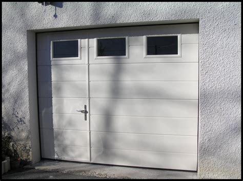 prix porte de garage sectionnelle h 246 rmann maison travaux