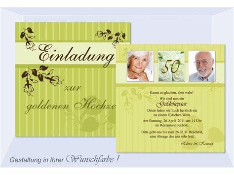 einladungen goldene silberne hochzeit einladungskarten